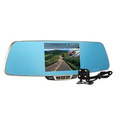 Dash Cam, Z-Edge Dual Lens Car Camera, Car Video Recorder for Vehicles Front and Rear Dvr, 5.0 Inch Screen, 1080P with 16G Micro SD Included