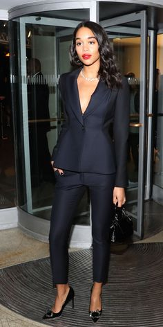 Laura Harrier - Modern Swan Spotting at the Whitney Art Party and Guggenheim Gala