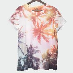 T-Shirt Dusky Malibu Palm