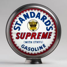 "Standards Supreme 15"" Limited Edition Gas Pump Globe (15.346)"