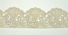 Venice Lace Art Nouveau Morning Glory  32 by Cathyscrazybydesign