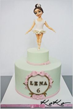 Ballerina - Cake by KoKo