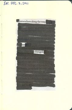 http://newspaperblackout.com/post/15483475869/somewhere-along-the-way-a-blackout-by-h