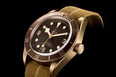 Tudor Heritage Black Bay Bronze 79250BM - Manufacture Movement chronometer - Baselworld 2016
