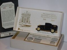 Vintage ERTL Deluxe Checks 75th Anniv 1927 Essex Coupe Conversion Delivery Truck #Ertl #Essex