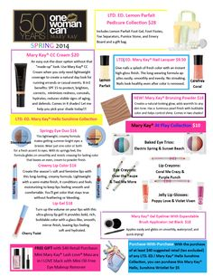 Spring 2014 New & Limited Edition products! Visit my website to order today and LET THE SUN SHINE IN!!!!  www.marykay.com/cyates