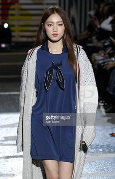 Lee Sung-kyung attends the 2016 S/S Sewing Boundaries collection at Common…