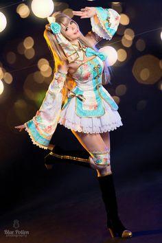 μ/'s Sport Unawakened Honoka Kosaka Sportswear Cosplay Costume Love Live