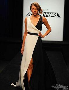 Project Runway Red Carpet Dresses For Heidi Klum... Anthony Design