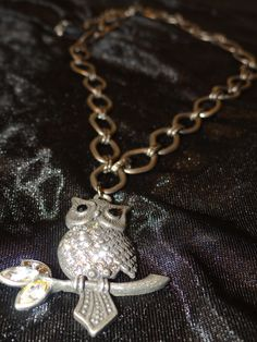 Guardian Owl Necklace  Check it out on www.Soltreasure.com!