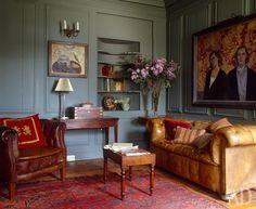 Как оформить гостиную в традиционном стиле