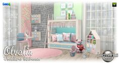 Olvelia Toddlers Bedroom at Jomsims Creations • Sims 4 Updates
