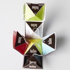Fusion tea packaging | UQAM | Sylvain Allard