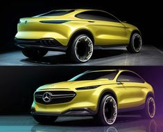 Mercedes-Benz Concept Design Sketch Renders by Alexander Hoch