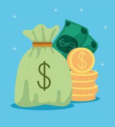 How To Flip Money, I Get Money, Cash Money, Money Generator, Free Bitcoin Mining, Dollar Money, Bag Illustration, Free Cash, Free Money