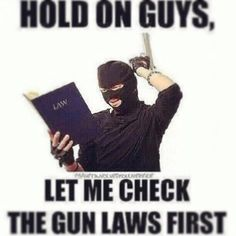 How the Libs think gun free zones work against criminals. Their stupidity is outstanding!