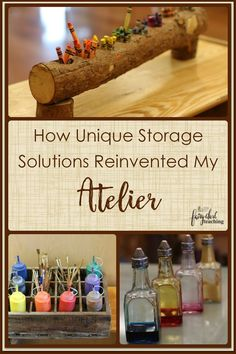 How Unique Storage Solutions Reinvented My Atelier l Fairy Dust Teaching