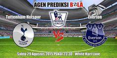 Prediksi Bola Tottenham Hotspur vs Everton 29 Agustus 2015