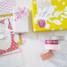 wrapping papers & washi tape -Bohème Circus