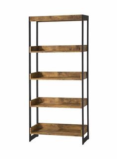 Coaster Fine Furniture Bookcase Antique Nutmeg 800657