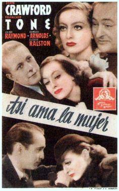 "Así ama la mujer (1934) ""Sadie McKee"" de Clarence Brown - tt0025740"