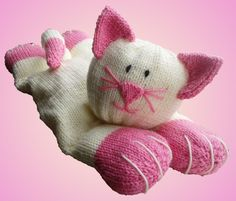 The Cat's Pyjamas Pyjama Case Knitting Pattern