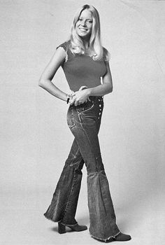 Bell Bottom Jeans Early 1970's