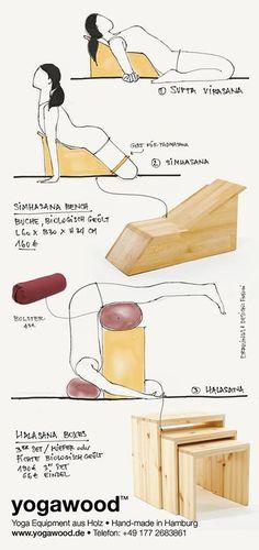 Yogawood flyer by FNYOGI - verso #simhasana #suptavirasana #halasana