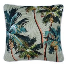Oasis cushions in palm royale (various colours) - Image Aloe