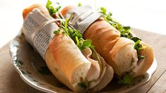 Get Pork Terrine Baguette: Banh Mi Cha Lua Recipe from Cooking Channel Empanadas, Burritos, Food Network Recipes, Food Processor Recipes, Pork Meatloaf, Chicken Lunch Recipes, Tacos, Sbs Food, Food Trends
