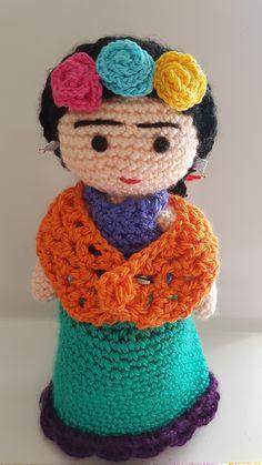 Frida Kahlo amigurumis Tía Pata Amigurumis