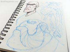 Sketchbook Page by Brad Fitzpatrick