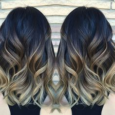 2nd session from darkest natural brown... by @jonahrunswithscissors styled by @taaav_ #balayage #hairpainting #behindthechair