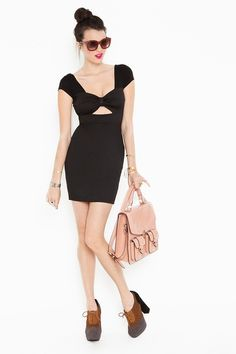 a cut-out dress that wont make me look all fat?? i'd need to try this on.