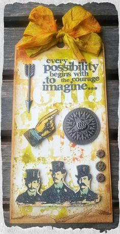 Look in the box: Tim Holtz: 12 tags of 2014 - June