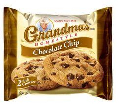 Grandma's Chocolate Chip Cookies – 33 Pks – Total 66 Cookies Chocolate Shop, Dark Chocolate Chips, Best Chocolate, Oatmeal Raisin Cookies, Chocolate Chip Cookies, Cookie Recipes, Snack Recipes, Snacks, Grandma Cookies