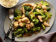 Get Chicken and Broc