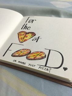 Doodle time :)  #fortheloveoffood!