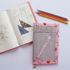 Sketch Book Cover | Sew Mama Sew | Outstanding sewing, quilting, and needlework tutorials since 2005.