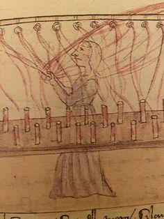 Detail page 29 Star Trek Online, Medieval Crafts, Textiles, Firenze, 15th Century, Farming, Outline, Weaving, Geek Stuff