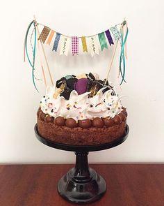 Sweet Recipes, Cake Recipes, Brownie Cake, Happy Birthday Cakes, Drip Cakes, Cheesecake, Cake Shop, Buttercream Cake, Party Cakes