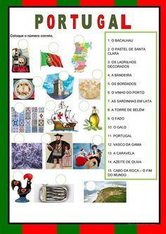 If you are planning to work in Portugal or any of the other countries where Portuguese is spoken then it can only be to your advantage to learn as much of the language as possible. Portuguese Words, Learn Brazilian Portuguese, Portuguese Lessons, Portuguese Language, Portuguese Culture, Learn A New Language, Thinking Day, Classroom Environment, Lessons For Kids