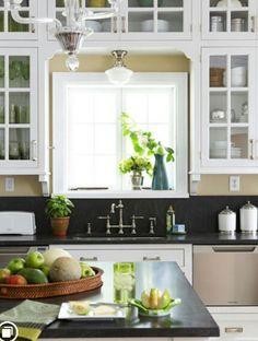 ideen k chenarbeitsplatten aus granit schlichte k che k chendesign pinterest schlichte. Black Bedroom Furniture Sets. Home Design Ideas