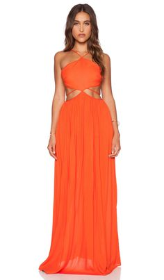 THE JETSET DIARIES Carnivale Maxi Dress in Mandarin | REVOLVE