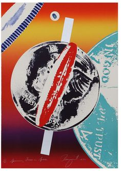James Rosenquist (American, b. Spinning Faces in Space, 1972 Lithograph with screenprint in colors x - Available at 2017 February 14 Valentine's. Georges Braque, James Rosenquist, Claes Oldenburg, Classical Realism, Jasper Johns, Object Drawing, Roy Lichtenstein, Fine Art Auctions, Cultura Pop