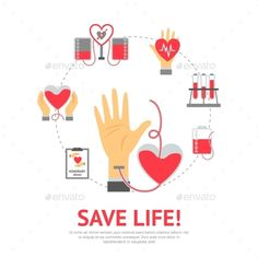 Buy Donor Flat Concept by macrovector on GraphicRiver. Donor flat concept with blood donation and transfusion process icons set vector illustration. Editable EPS and Render. Graphic Design Typography, Graphic Design Art, Blood Donation Posters, Blood Drop, Medical Icon, Diy Origami, Vector Photo, Displaying Collections, Icon Set
