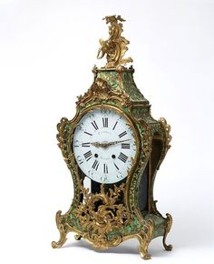 Clock and bracket, Paris about 1750