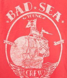 Image 2 de t-shirt  «BAD SEA» de Zara