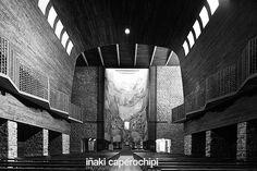 La Basilica de Arantzazu. Oñati. Pais Vasco. © Inaki Caperochipi Photography Sacred Architecture, Texture, Interior, Artwork, Photography, Collection, Spanish Architecture, Space, Pictures