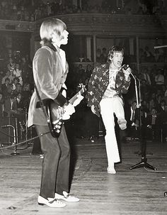 Brian Jones And Mick Jagger - The Rolling Stones #rollingstones #brianjones #mickjagger